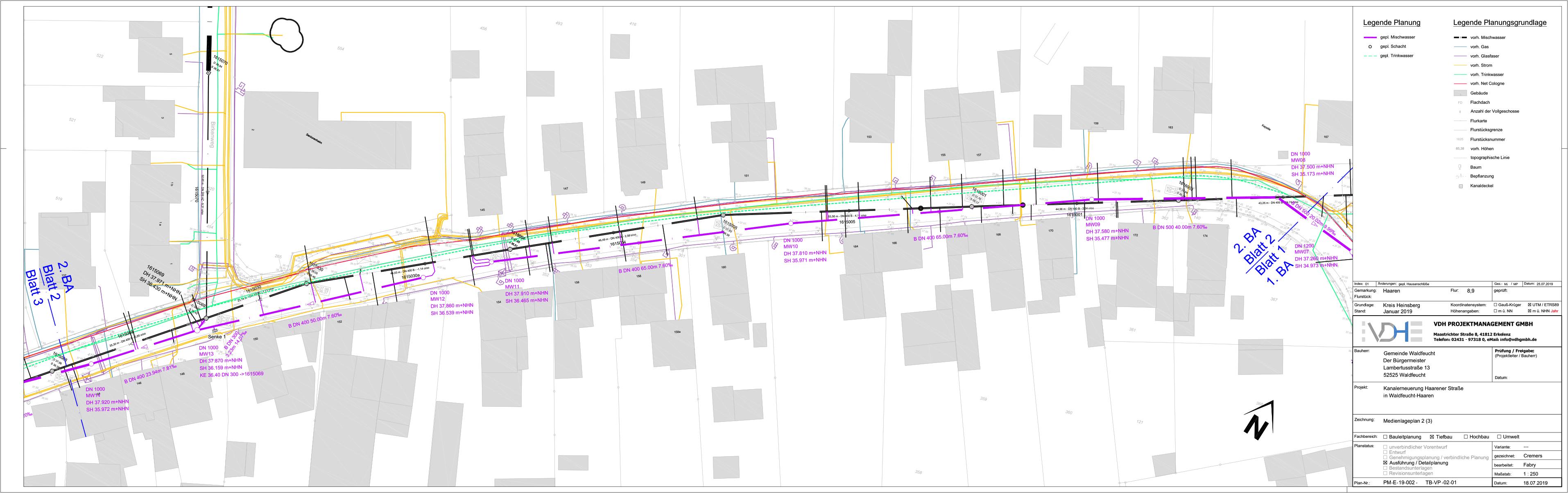 VDH Projektmanagement GmbH – Waldfeucht Haarener Straße Kanalsanierung
